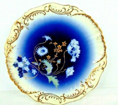 Old and Lovely 6 inch Set of 12 Bread Plates Vintage Homer Laughlin Blue Willow Ware Plates