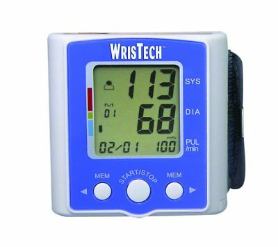 WrisTech Blood Pressure Monitor with Case Lightning fast & Highly Accurate