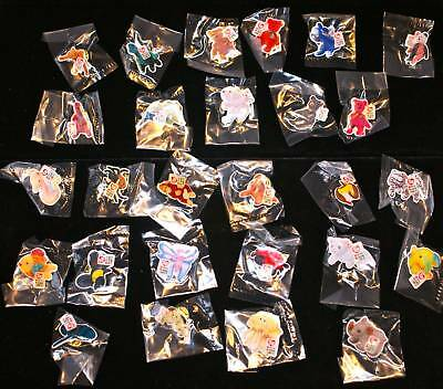2000 TY McDonalds SET 27 TEENIE BEANIE BABIES BABY CREW PINS lapel pin lot NEW !