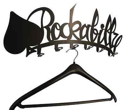 Wandgarderobe Garderobe Rockabilly Garderobenhaken Flurgarderobe