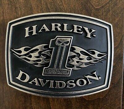Harley-Davidson® Uno Flame Buckle -