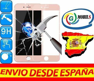 Protector Pantalla Cristal Templado COMPLETO ROSA APPLE IPHONE 6S PLUS 0.30m