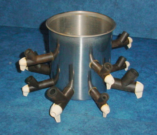 Virtis Lyophilizer Freeze Dryer Stainless Steel Tree Style Manifold