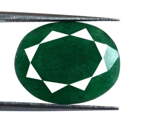 Natural Green Emerald Loose Gemstone 8 Ct+ Oval Cut Brazilian Weekend Sale