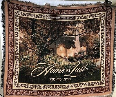 Team Tapestry Throw (Jerusalem Prayer Team Home At Last Throw Blanket Tapestry 48