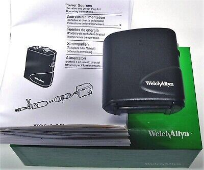 New Welch Allyn 75200 Portable Power Pack Source For Lumiview Headlight