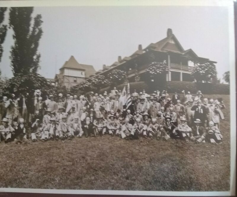 1911 Civil War Soldiers Reunion at Hotel Roanoke, Virginia along with News Clip