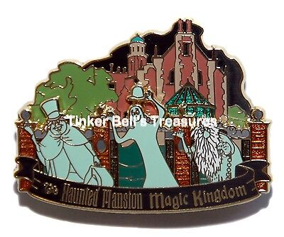DISNEY Pin LE 300 - WDI - Hitchhiking Ghosts - Magic Kingdom Haunted Mansion