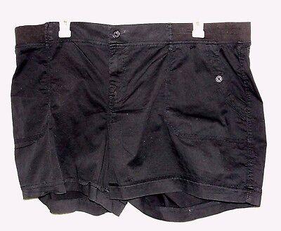 Women's Sonoma Black Mid-Rise Shorts - Size 24W - NWT
