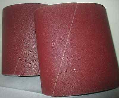 Premium 36 Grit Sandpaper Belts 8 X 19 10-pack For Ez8 Floor Sander
