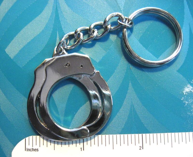 Handcuff  Hand Cuff  -  keychain