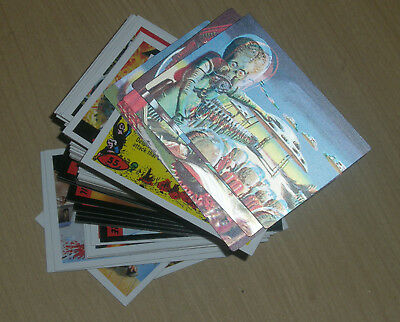 2012 Topps Heritage MARS ATTACKS complete master 85-card set inserts 3D