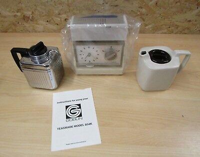 NEW Goblin 854K Teasmade | Electric Tea Maker Vintage Retro 1970s