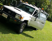 Toyota landcruiser V8 diesel workback Toolakea Townsville Surrounds Preview