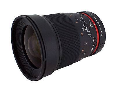 New Samyang 35mm F1.4 Ultra Fast Wide Angle Lens for Canon EOS Digital SLR