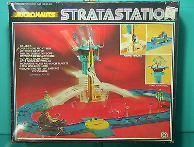 Micronauts VINTAGE 1976 Stratastation Playset Lot of 38+ Parts w/Box Mego C-6!!! for sale  Shipping to Canada