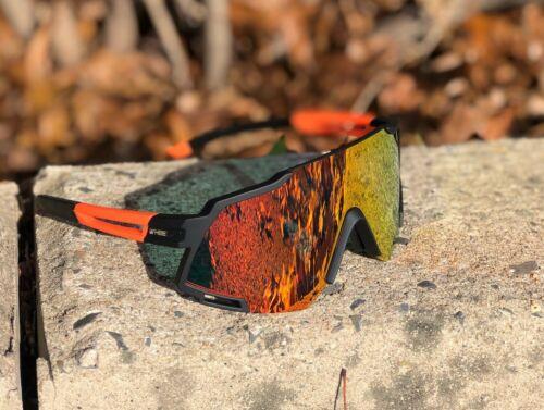 Polarized Cycling Sunglasses UV400 Anti-Fog Bike Glasses Goggles Eyewear Rain