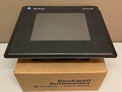 Allen Bradley 2711-t10c20 Ser E Rev E Frn 4.46 Panelview 1000 Touchscreen Read