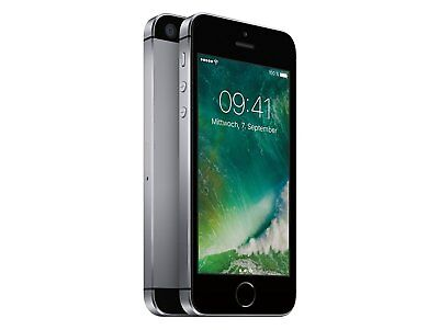 Apple iPhone SE - 64GB - Space Grau (Ohne Simlock) iOS Smartphone Handy WOW !!!