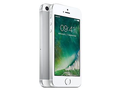 Apple iPhone SE - 32GB - Silber (Ohne Simlock) iOS Smartphone Handy LTE 4G WOW !