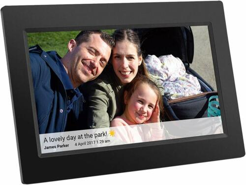 10 Inch Smart WiFi Digital Photo Frame with Touch Screen LCD Panel 8GB Memory