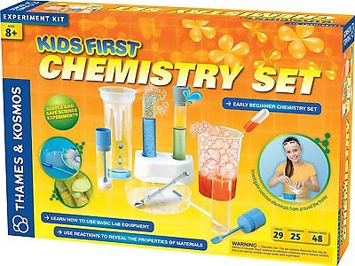 THAMES AND KOSMOS 642921 Kids First Chemistry Set Science Kit AGES 8+ - Kids Chemistry Sets