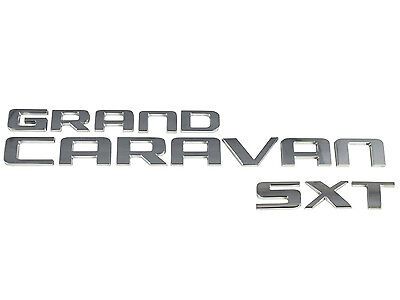 New Dodge Grand Caravan Van SXT Back Door Lift Gate Logo Emblem Badge (Dodge Grand Caravan Sport Door)