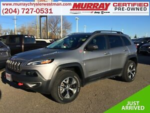 2016 Jeep Cherokee Trailhawk 4WD *Heat/Cool Leather* *Backup Cam