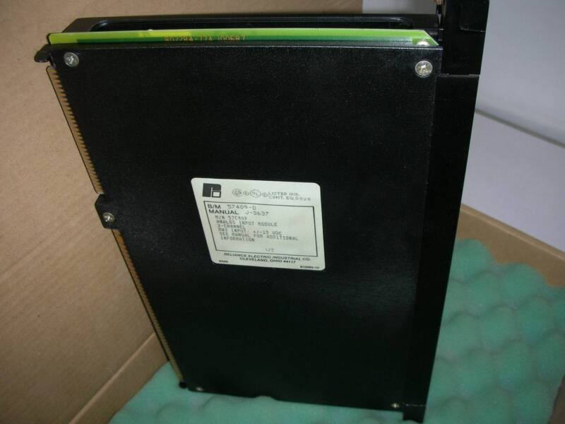 1pc Used Reliance Electric 57409-d /j-3637 /57c409