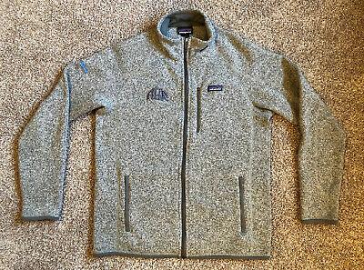 Patagonia Better Sweater Men's Fleece Full Zip Jacket Size L - Stonewash w/