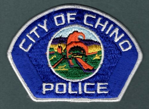 Chino California Police Patch