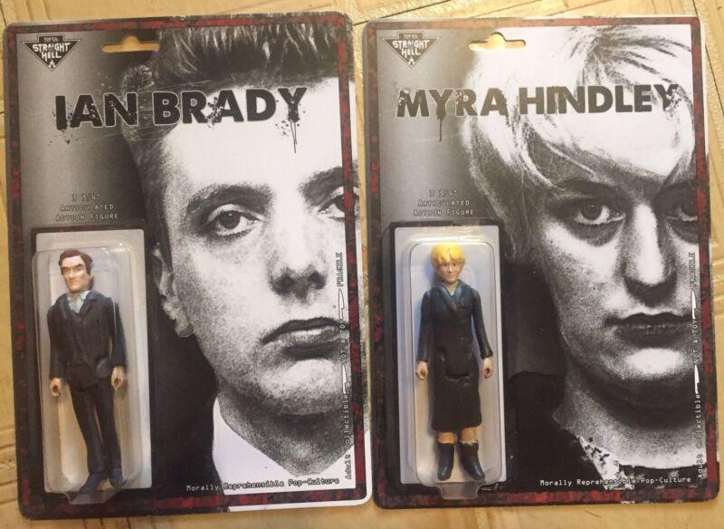 "Ian Brady & Myra Hindley COMBO Custom 3.75"" Action Figure Set TRUE CRIME"