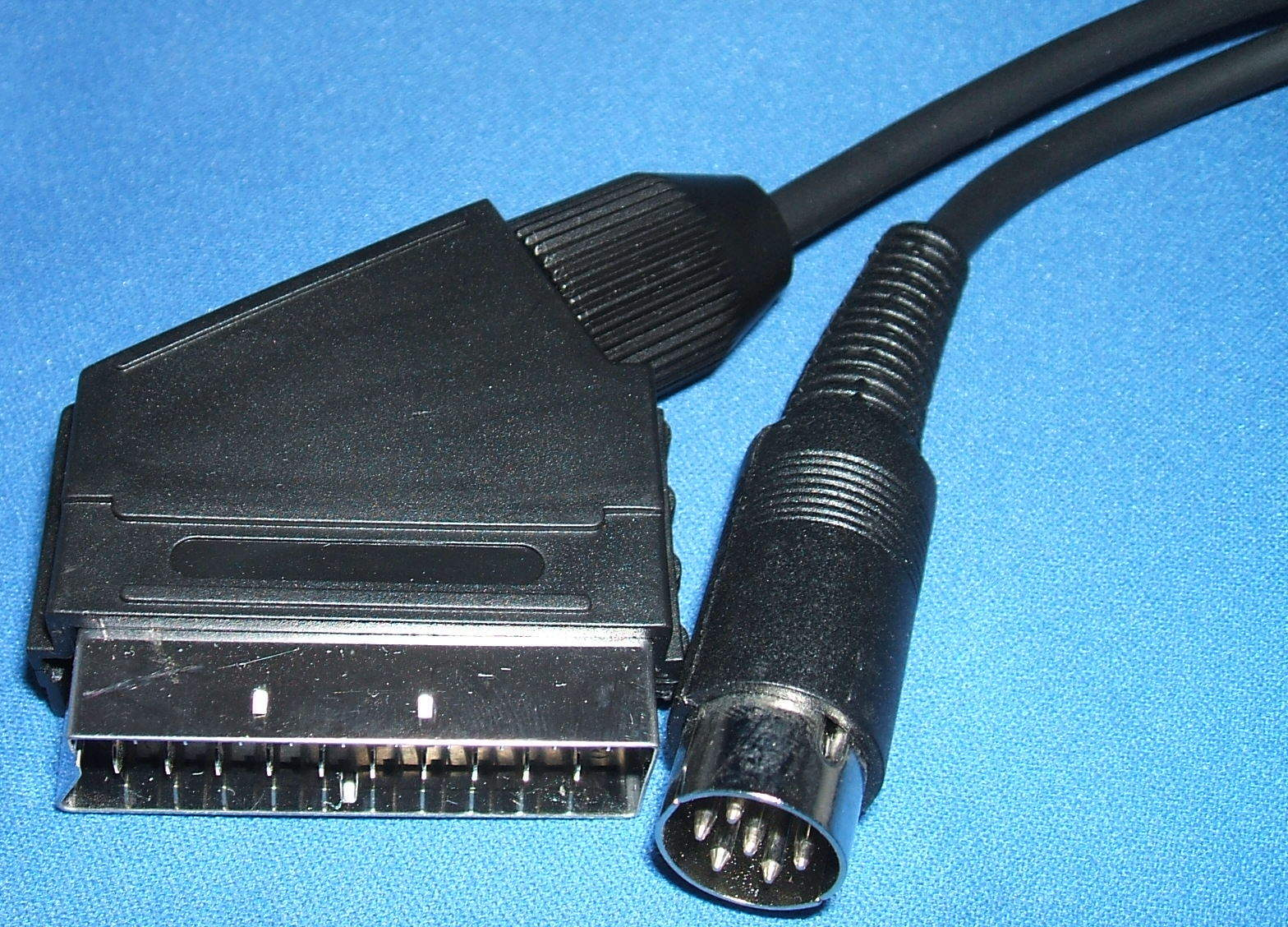 5m Monitor Lead/Cable for Acorn BBC B Micro 6Pin DIN to TV/Monitor ...