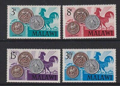 Malawi - 1971, Decimal Currency, Birds set - MNH - SG 370/3