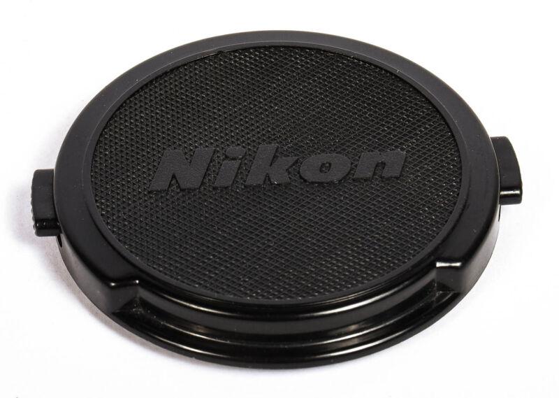Nikon Snap on Front Lens Cap for DSLR Cameras 52mm, Black *EX*
