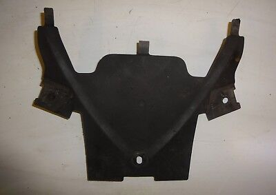 TRIUMPH SPEED TRIPLE 1050 2011 2012 2013 2014:SECTION OF UNDERTRAY - REAR:USED