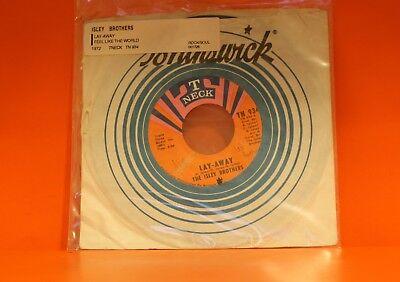 The Isley Brothers   Lay Away   Feel Like The World     7  Single 45