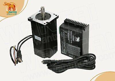 Usa Freewantai 1pc Nema 34 New Easy Servo Motor1275oz 1000cpr Driver Ss880 8.2a