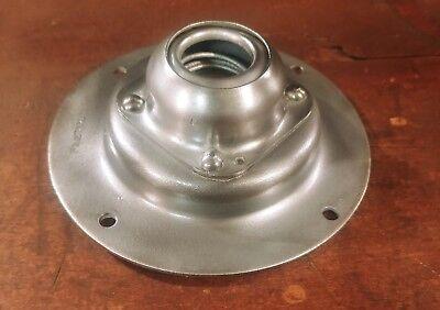 VTG Benjamin Barn Light Fixture Flush Swivel Ceiling Mount Plate Electrical Box