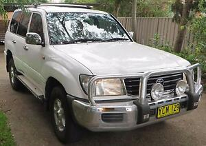 2002 Toyota LandCruiser Wagon Caringbah Sutherland Area Preview