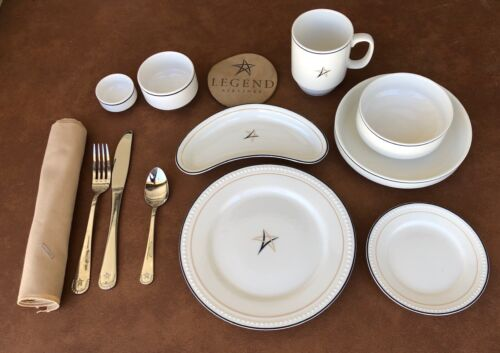 Legend Airlines 13-Piece Place Setting