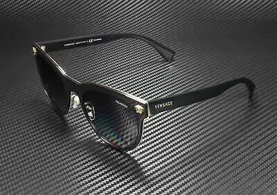 VERSACE VE2198 1002T3 Black Polarized Grey Gradient 54 mm Women's Sunglasses