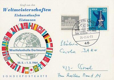 Weltmeisterschaften Eiskunstlaufen, Eistanzen Westfalenhalle Dortmund 1964