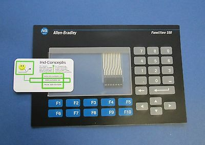 Allen Bradley 2711-k5a And 2711-b5 Panelview 550 Keypad Replacement Membrane