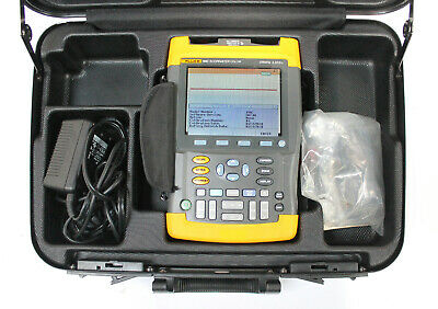 Fluke 199c 200mhz 2.5gss Digital Oscilloscope Scopemeter Multimeter