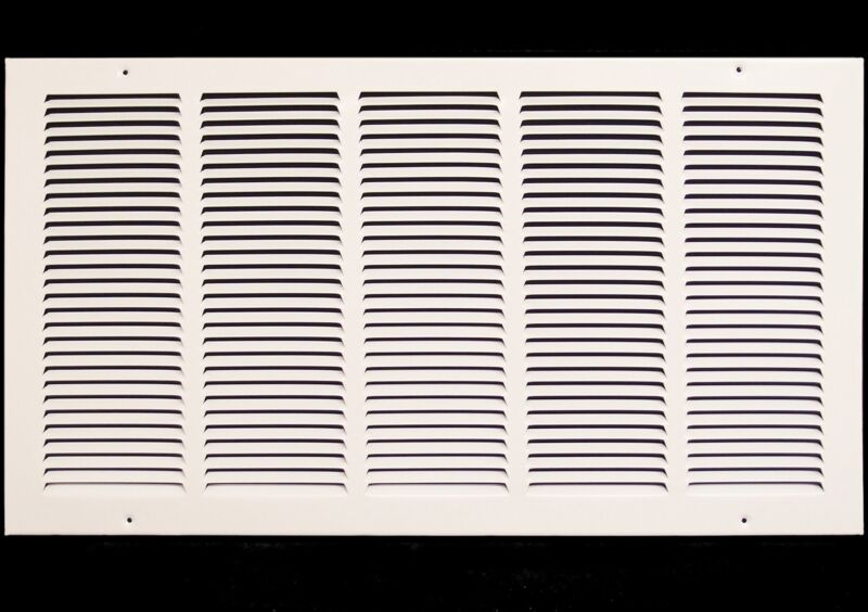 """26""""w X 14""""h Steel Return Air Grilles - Sidewall and Cieling - HVAC DUCT COVER -"""