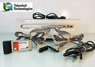 Agilent 1692ad Pc Hosted Logic Analyzer 68 Channel 1394 Cardbus 68ch La 2mg Opt
