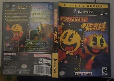 Nintendo Gamecube: Pac-Man Vs. and Pac-Man World 2 - NEW still sealed! 2003!