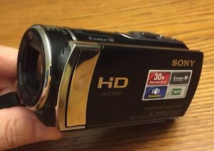 Sony Handycam HD video camera