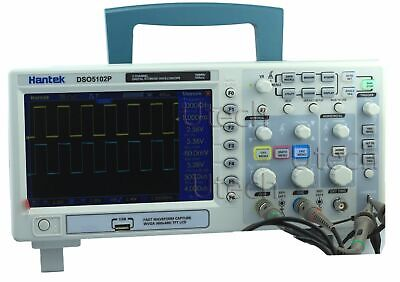Hantek Dso5072p Dso5102p Dso5202p Digital Oscilloscope 70-200mhz 1gsas 2ch 40k
